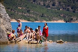 Teenies am Lac de Ste. Croix