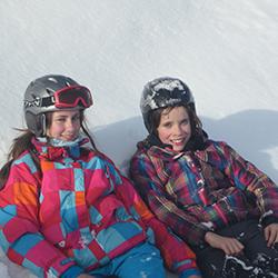 Kids im Schnee für NL