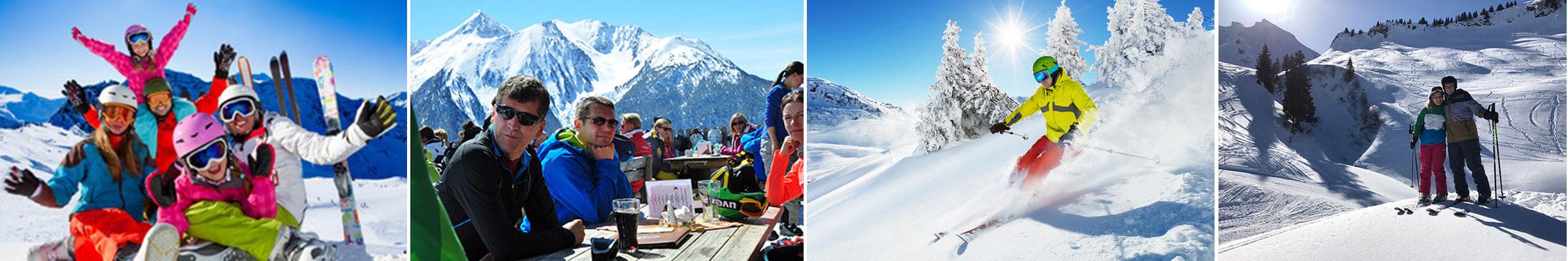 Szenen aus dem Skirurlaub