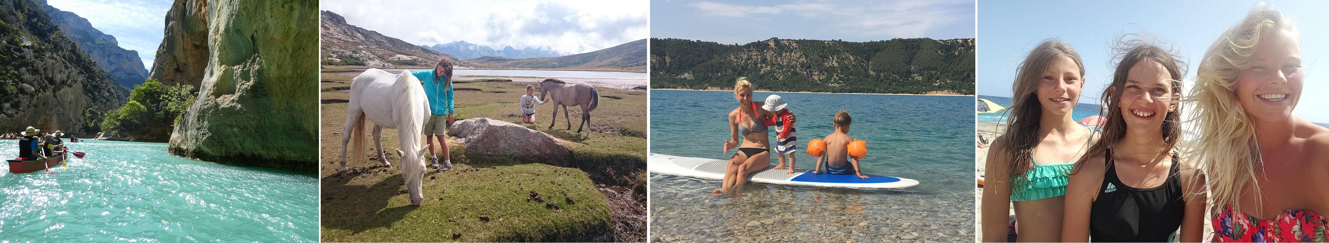 Verschiedene Eindrücke aus dem Familienurlaub