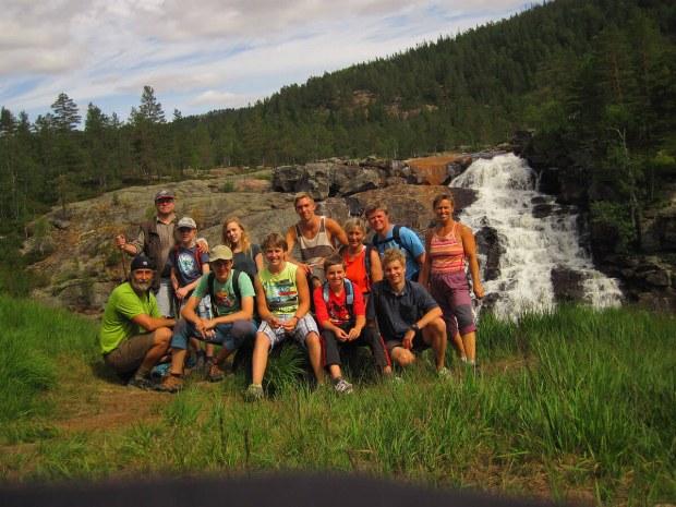 Gruppenfoto von der Wildnistruppe