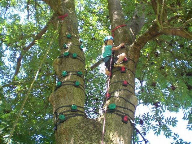 Klettern im Familiencamp