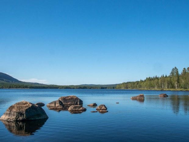 Landschaftsbild von Gammelbyn