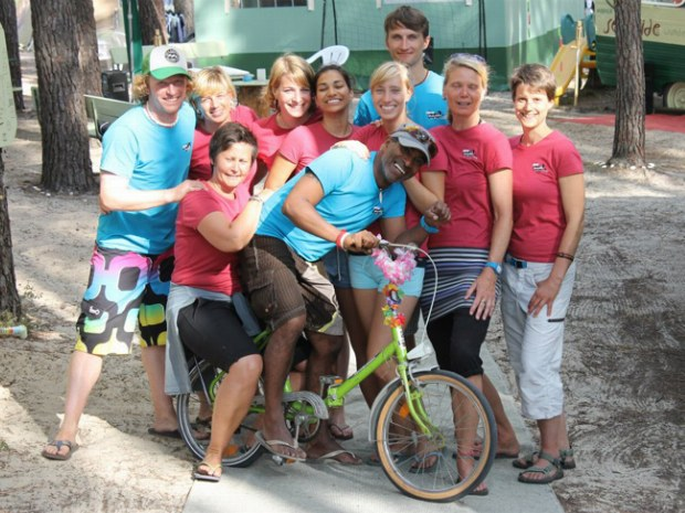 Das Team des Seaside Camps