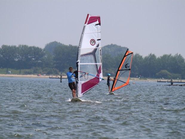 Windsurfen für Anfänger und Wiedereinsteiger