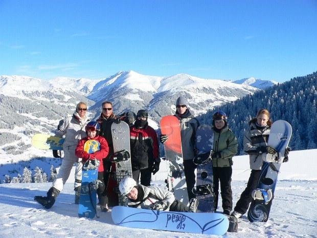 Snowboardkurs im Skigebite Gerlos