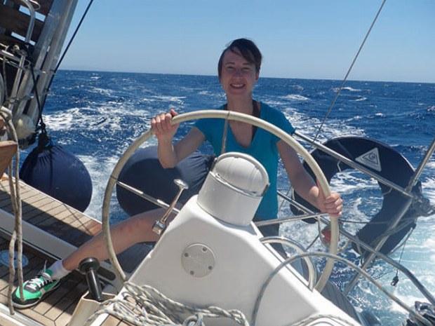 Mitsegeln auf Yacht in kanarischem Archipel