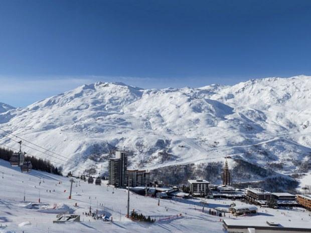 Skilift und Ort Le Bettaix