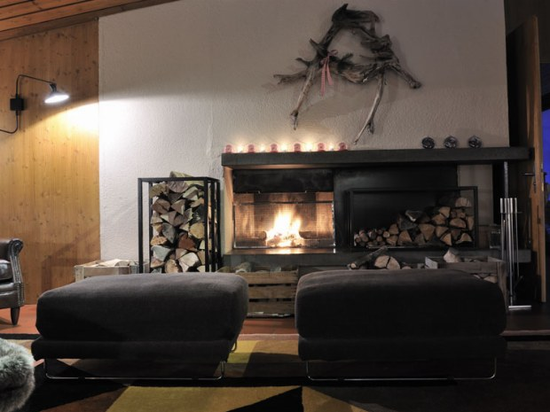 Kaminzimmer Hotel Saanewald Lodge