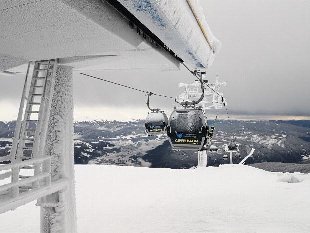 Klirrende Kälte am Gipfel