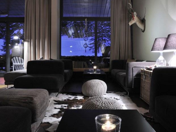 Lounge im Sporthotel
