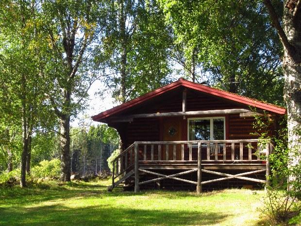 Die Hütten am See