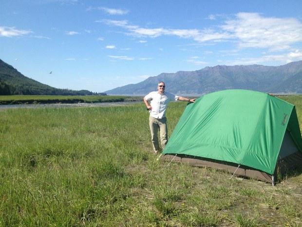 Zelt in der Natur
