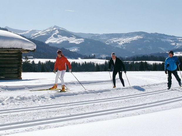 Langlauf im Brixental im Skiurlaub in Kitzbühel