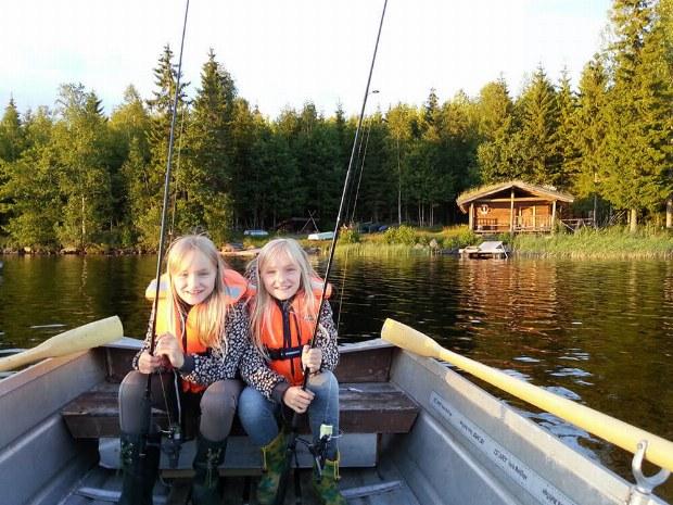 Angeln im Aktivcamp in Schweden