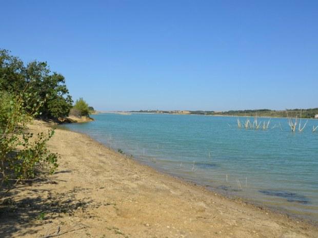 Strand vom Lac de la Ganguise