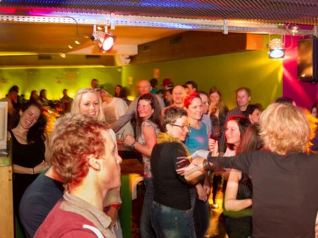 Parties in unserer stylischen Thuiner Disco-Bar