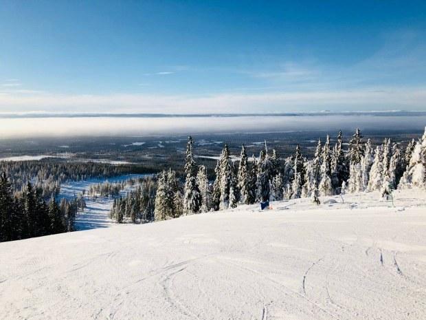 winterlandschaft Idre in Schweden