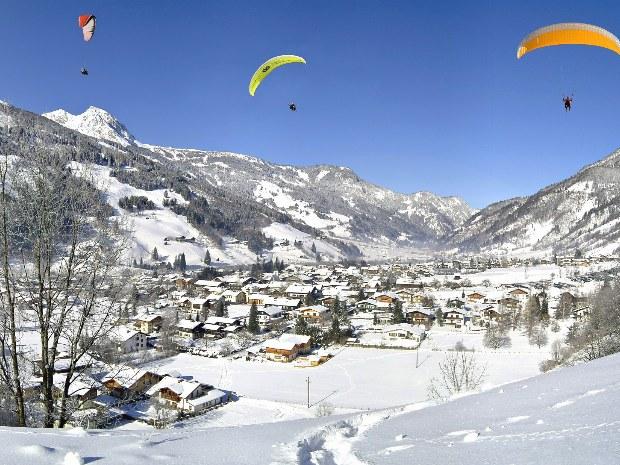 Bad Hofgastein im Schnee