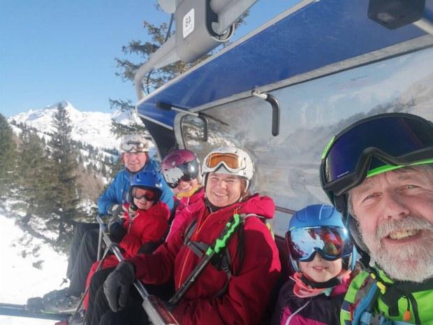 Im Schaidberglift in Obertauern