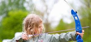 Bogenschießen im Naturcamp