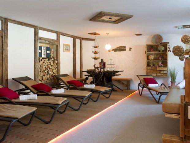 Sauna Ruheraum zum relaxen