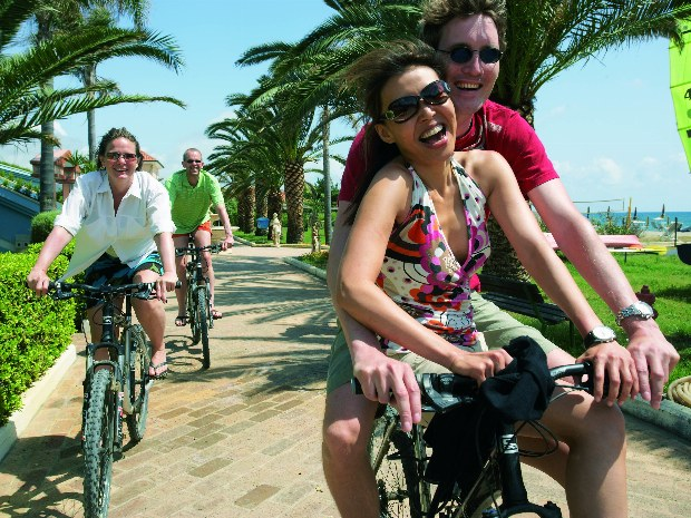Fahrradtour an Amalfiküste in Süditalien