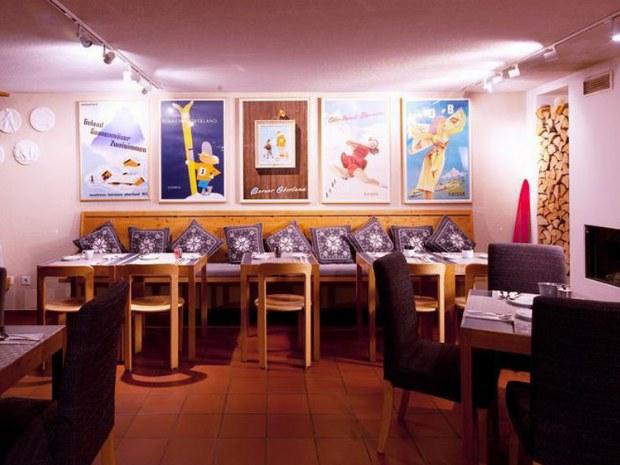Speisesaal im Hotel Saanewald Loge