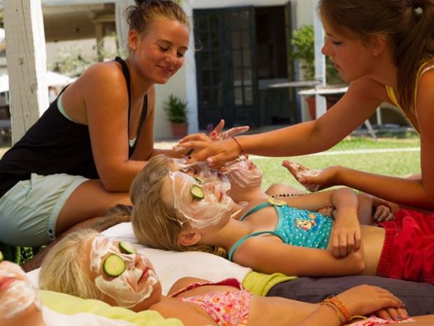 Beauty-Tag in dern Kinderbetreuung im Sportclub Paradise