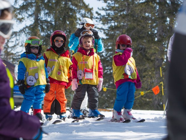 Kleinkinder Skikurs