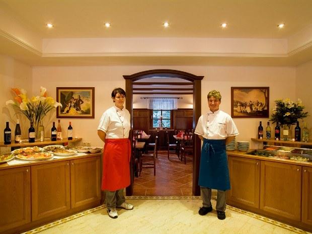 Buffet im Hotel Rauscher im Skigebiet Bad Hofgastein