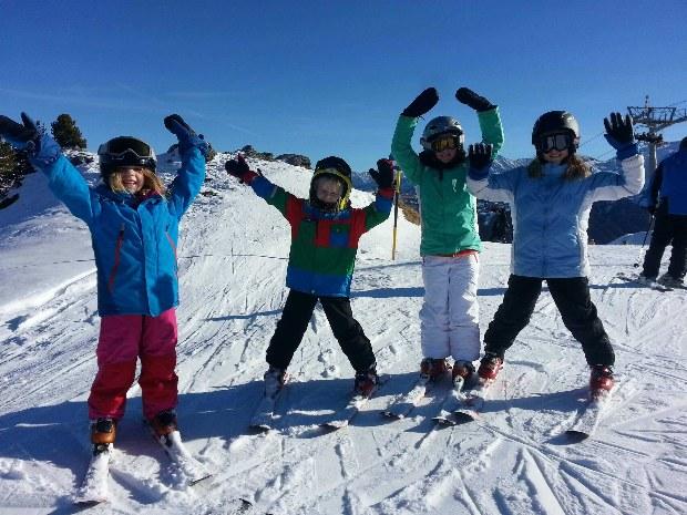 Kinderskikurs im Skigebiet Gerlos