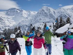 Skigebiet Berner Oberland