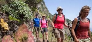 Wander ung in der Natur Madeiras