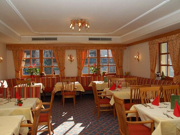 Speisesaal des Hotel Rauscher im Skigebiet Bad Hofgastein