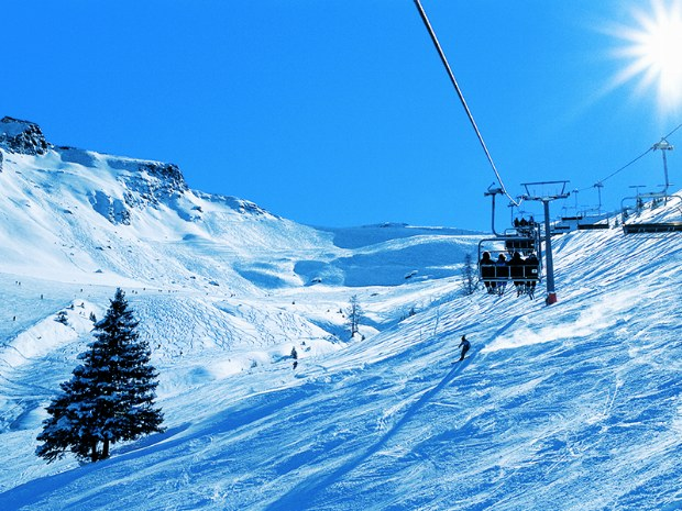 Jungeralm Stubnerkogel Skilift im Skigebiet Bad Hofgastein