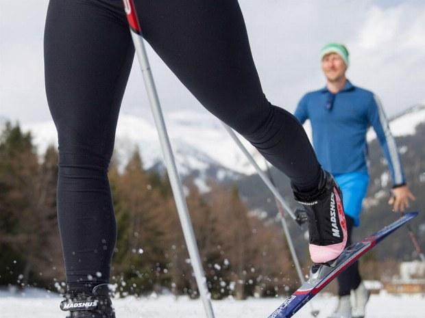Auch Langlauf ist möglich in Davos