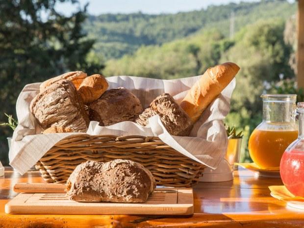 verschiedene Brotsorten zum Frühstück