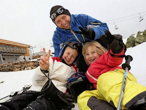 Familienspaß im Schnee