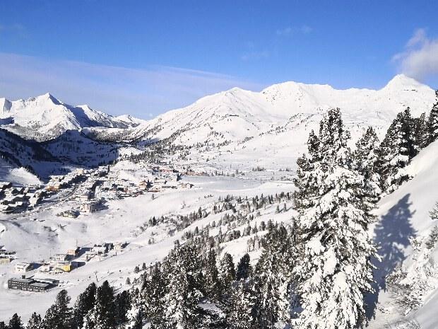 Obertauern, die Schneeschüssel